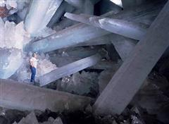 Massive crystals found in a Mexican cave